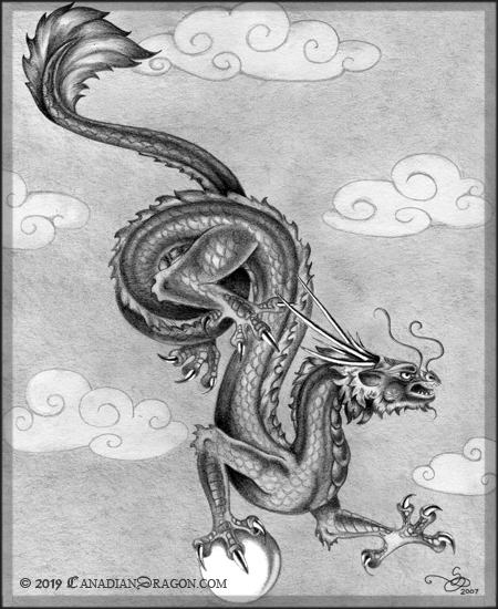 Oriental Chinese Dragon